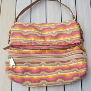 💕FOSSIL SOUTHWEST TEXTILE MESSENGER SHOULDER BAG